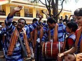 "Artistes performing folk dance at the screening of the Odiya film ""Sala Budha"" (The stupid Old Man), at the 44th India International Film Festival of India (IFFI-2013), in Panaji, Goa on November 23, 2013.jpg"