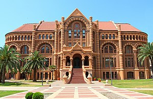 University of Texas System - The 1890 Ashbel Smith building on the campus of the University of Texas Medical Branch at Galveston