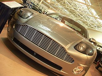 British Motor Museum - Aston Martin V12 Vanquish