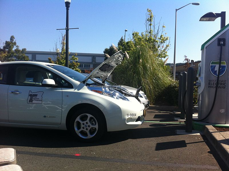 Auto elettriche - Photo credit: Oregon Department of Transportation