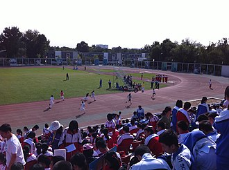 Beijing 101 Middle School - Image: At the XCVIII BJ101 Sports Festival (20110929093609)