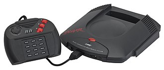 Atari Jaguar - Atari Jaguar with the standard controller