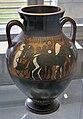 Attisch-schwarzfigurige Amphora des Princeton-Malers. Seite 1, Hetjens-Museum Düsseldorf (DerHexer).JPG