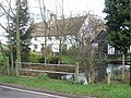 Attractive cottage beside stream in Whaddon - geograph.org.uk - 344172.jpg