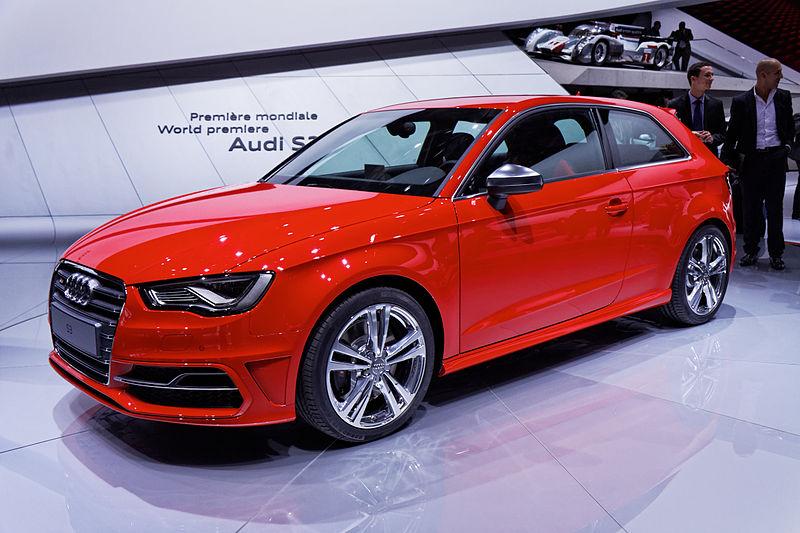 Audi S3 Mondial de Automobile de Paris 2012