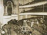 Auditorium of St James Theatre, Sydney undergoing restoration, 1930 - 1939 (4436756780).jpg