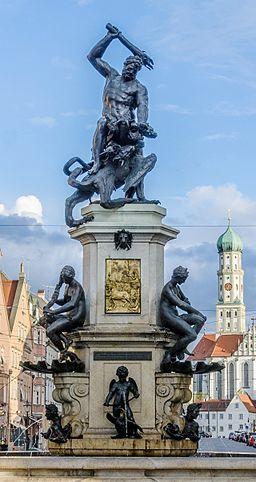 Augsburg Herkulesbrunnen