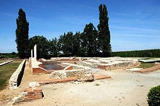 Augusta Bagiennorum - Remains of Augusta Bagiennorum.