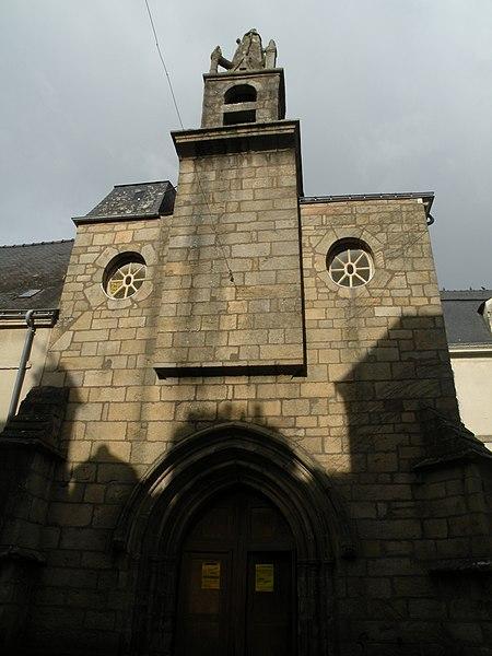 Sainte-Hélène chapel in Auray.