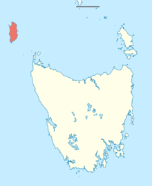 Australia Tasmania location map King Island.png