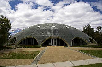 Australian National Heritage List - Image: Australian Academy of Science The Shine Dome