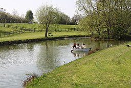 Avon Valley Country Park boating lake
