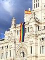 Ayuntamiento de Madrid - Rainbow flag - 170627 203418.jpg