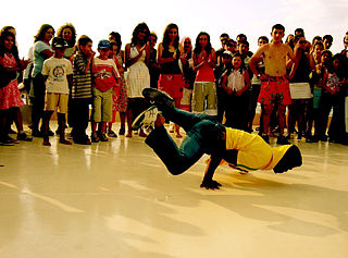 Hip-hop dance street dance styles primarily performed to hip-hop music
