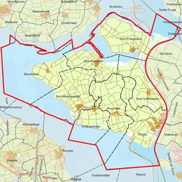 Lijst Van Woonplaatsen In Zeeland Wikipedia
