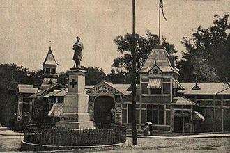 Saratoga, California - Image: BASA 1271K 1 169 10 Saratoga, California, 1906