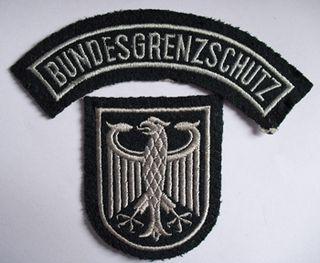 Bundesgrenzschutz Federal police organization in Western Germany