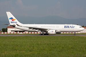 BH Air - BH Air Airbus A330-200 at Turin Airport.