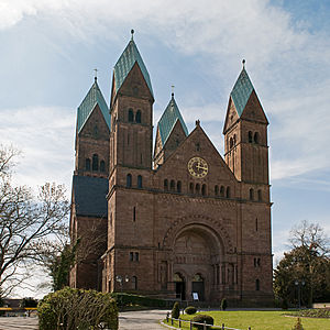Church of the Redeemer, Bad Homburg - Image: B Hvd H Erloeserkircher Frontansicht EVA 8493
