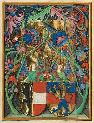 Johann Beckenschlager - Coat of Arms.