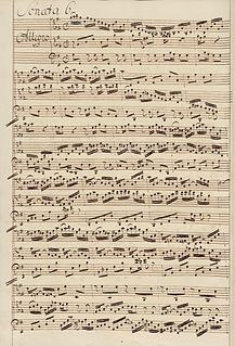 Six Sonatas for Violin and Harpsichord, BWV 1014–1019