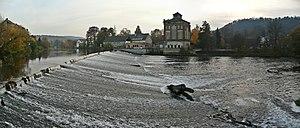 Saale - Saale in Bad Kösen