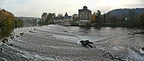 Bad Kösen Saalewehr und Alte Mühle (01).jpg