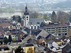 Bad Breisig - View of Bad Breisig