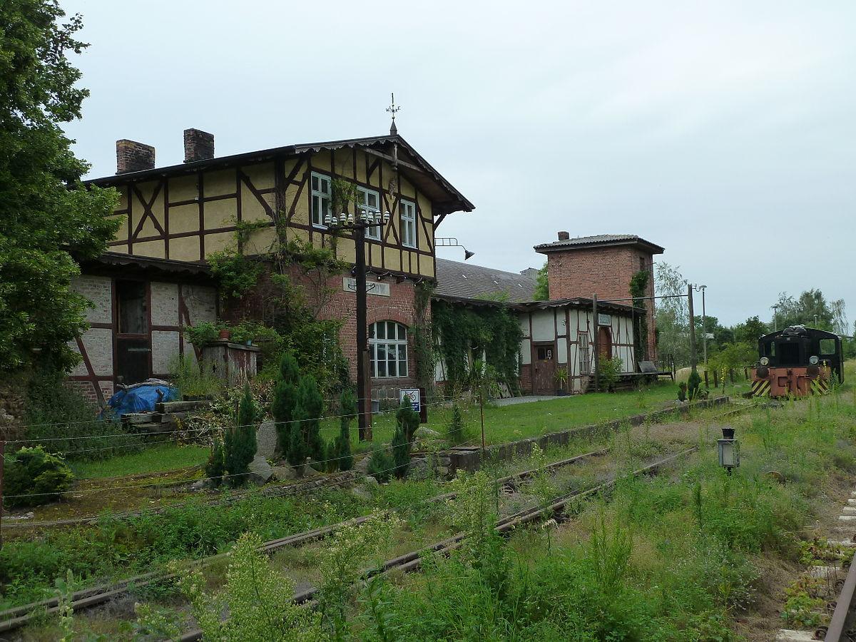 Bahnstrecke Prenzlau–Löcknitz –