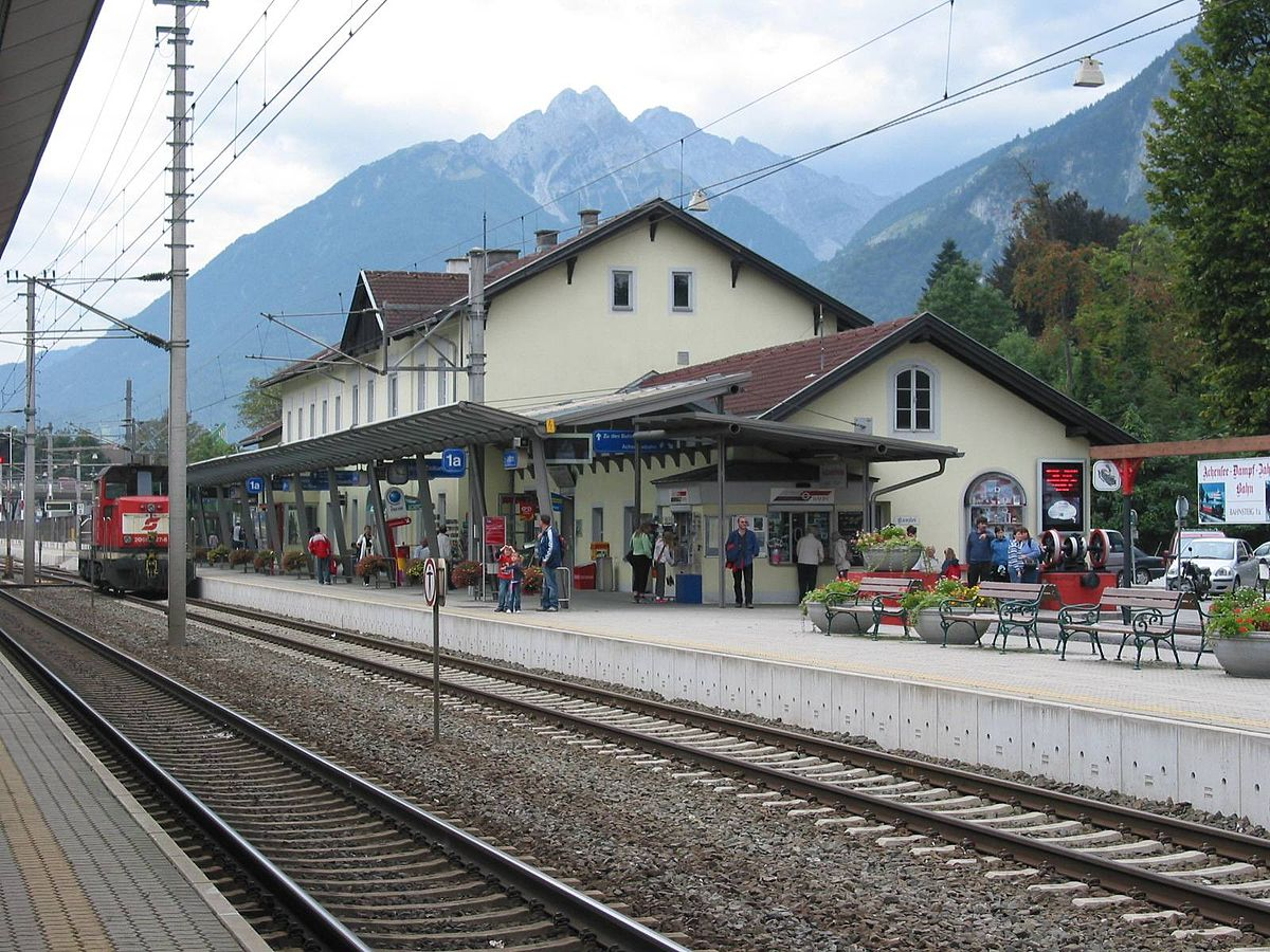 Jenbach Railway Station Wikipedia