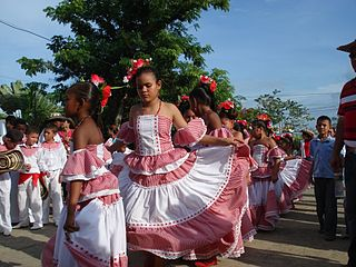 Cumbia Folkloric genre and dance from Colombia and Panama
