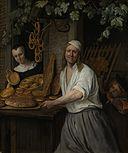 Bakker Arent Oostwaard en zijn vrouw Catharina Keizerswaard Rijksmuseum SK-A-390