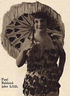 Zdeňka Baldová Czech actress