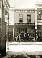 Balfour's cafe, 74 Rundle Street, Adelaide and Duncan and Fraser Ford T roadster, 19 Feb 1924 (SLSA B 2203).jpg