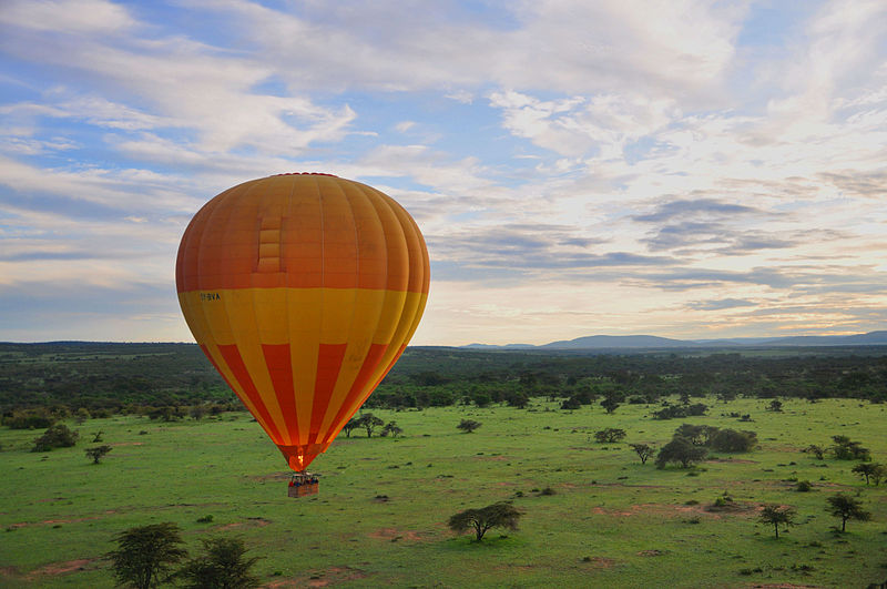 File:Ballooning Away in Maasai Mara.jpg