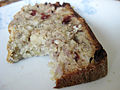 Banana bread with a bite missing, May 2009.jpg
