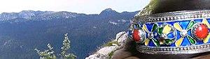Montagnes et bijou kabyles