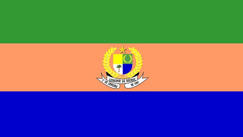 File:Bandeira de Senador La Rocque.jpg
