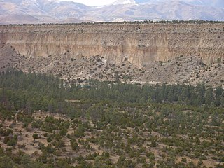 Bandelier Tuff A geologic formation in New Mexico