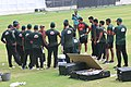 Bangladesh team on practice session at Sher-e-Bangla National Cricket Stadium (10).jpg