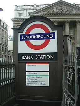 Bank Station and subway - geograph.org.uk - 848713