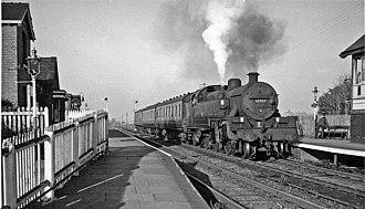 Banks railway station - Banks railway station in 1964