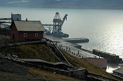 Barentsburg Mine Dock.JPG