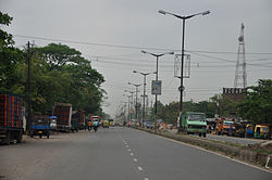 Barrackpore Trunk Road at Panihati