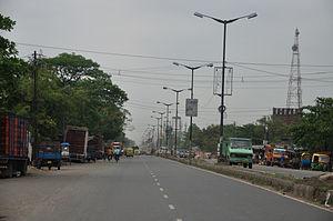 Panihati - Barrackpore Trunk Road at Panihati
