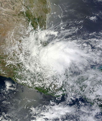 2013 Atlantic hurricane season - Image: Barry Jun 20 2013 1720Z