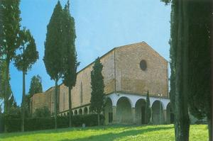 Poggibonsi - The Basilica of San Lucchese.
