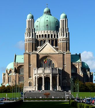 Basilica of the Sacred Heart, Brussels - Image: Basilica of the Sacred Heart, Brussels (1)
