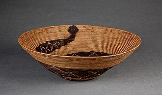 Bowers Museum - Cahuilla Basket, c. 1900