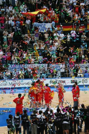 Sport in Spain - Spain national team in 2006 World Championships